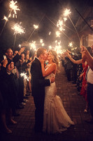 Sparklers wedding in Jackson Hole
