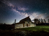 Milky Way over the T.A. Moulton Barn #1