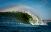Mavericks Rainbow Wave