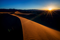 Sunrise Mesquite Sand Dunes, Death Valley #1